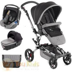 Od YouKids Zestaw Jane EPIC 3w1 wózek + gondola transporter 2 + fotelik KOOS - s45 soil