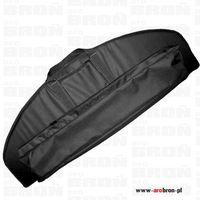 Forsport Solidny pokrowiec torba  czarny na łuk z gąbką i kieszenią na strzały - długość 115cm, wysoko