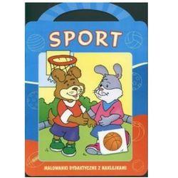 Sport. Malowanki dydaktyczne z naklejkami