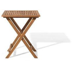Beliani Zestaw mebli balkonowych jasne drewno fiji (4260580929856)