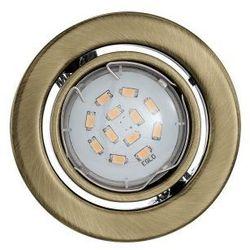 IGOA 93239 ZESTAW 3 OCZEK SUFITOWYCH WPUSZCZANYCH LED EGLO od Miasto Lamp