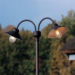 Konstmide 2-punktowa latarnia vega, czarny matowy