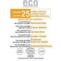 Eco cosmetics Krem na słońce lsf/spf 25 z bio-rokitnikiem i bio-oliwą z oliwek 3 ml