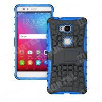 Pancerne etui Kickstand Huawei Honor 5X niebieskie - Niebieski (7426757223692)
