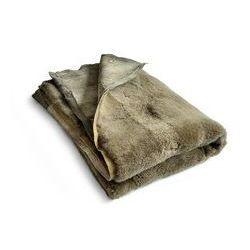 narzuta / dywan skórzany duży khaki, TL ND