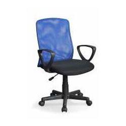 Halmar Fotel alex czarno-niebieski - zadzwoń i złap rabat do -10%! telefon: 601-892-200
