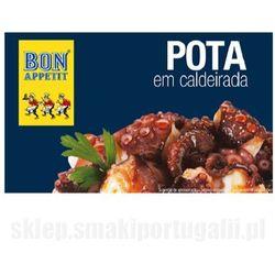 Portugalska kałamarnica humboldta duszona z warzywami 120g Bon Appetit (5601159207675)