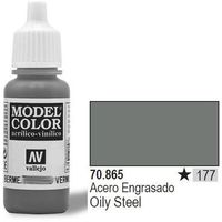 Vallejo  farba nr177 oily steel 17ml