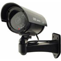 Kamera ścienna atrapa monitoring kamery LED