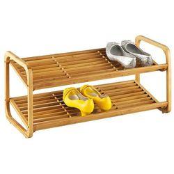 Zeller Bambusowy stojak na buty, obuwie, 2 poziomy,