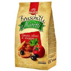 BRUSCHETTE MARETTI 70g Chrupki chlebowe z pomidorem i oliwą - produkt z kategorii- Pieczywo, bułka tarta