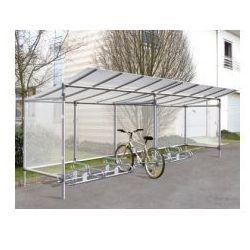 Wiata na rowery aluminiowa typu