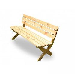 Drewniana ławka STRONG naturalny FSC