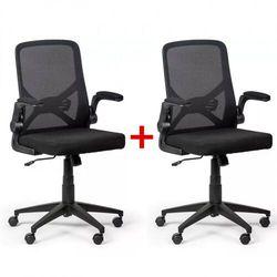Fotel biurowy Flexi 1 + 1 GRATIS, czarny