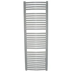 Thomson heating Zestaw: grzejnik łazienkowy york 500x1200 biały + kątowy zawór termostatyczny z zawore