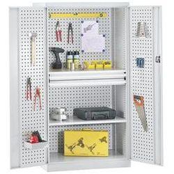 Mba-system Szafa na narzędzia, pusta obudowa,wewn. strony drzwi i ścianka tylna z perforacją