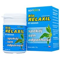 Biorelaxil tabl. 0,5 g 60 tabl. - produkt farmaceutyczny