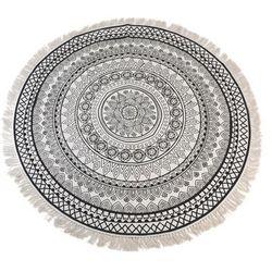 Dywan Boho z frędzlami Ø150cm - wzór 1 - wzór 1