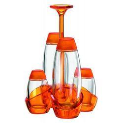 Zestaw na przyprawy Gemme, pomarańczowy - pomarańczowy (8008392132851)