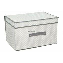 Em&em Pudełka pojemnik skrzynia na pościel odzież 50x40x30 cm b