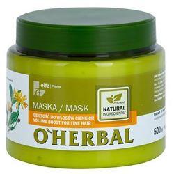 O'Herbal Arnica Montana maska nadająca objętość do włosów cienkich - sprawdź w wybranym sklepie