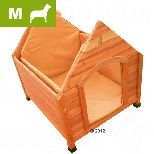 Izolacja do budy Spike Komfort, M - M: dł x szer x wys: 68 x 62 x 54 cm, Zooplus