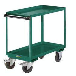 Montażowy wózek pomocniczy, 2 piętra, nośność 250 kg, pow. ładunkowa: dł. x szer