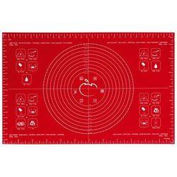 Mastrad - stolnica silikonowa (40 x 60 cm) - czerwona