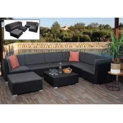 Aosom Meble ogrodowe lounge set moduły