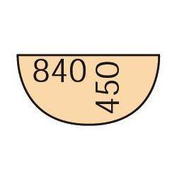 B2b partner Dostawka do stołu biurowego 84 cm, orzech