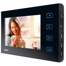 """Monitor """"eura"""" vda-09a3 ekran 7"""" pamięć wewnętrzna otwieranie 2 wejść do wideodomofonu vdp-29a3 saturn plus marki Eura-tech"""