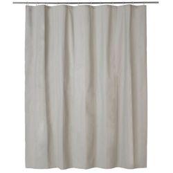 Zasłonka prysznicowa palmi 180 x 200 cm taupe marki Cooke&lewis