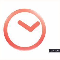 SELSEY Zegar ścienny Focus średnica 25 cm