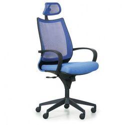 Krzesło biurowe Futura, niebiesko/czarne