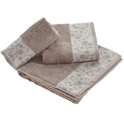ręcznik castelo beżowy, 70x140cm marki Dekoria