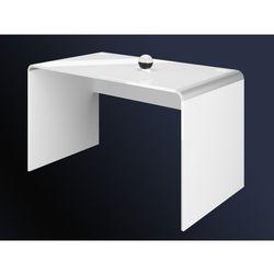 Biurko milano białe 100 wysoki połysk marki Hubertus design