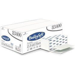 Ręcznik papierowy składany Z Bulkysoft Premium 2 warstwy 3750 szt. biały celuloza (8018426834002)