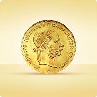 8 złotych guldenów austro-węgierskich marki Münze Österreich