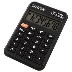 * kalkulator kieszonkowy * 8-pozycyjny wyświetlacz * zasilanie bateryjne * gumowe klawisze * etui * wymiary 58x87x12 mm * waga 40 g, LC110N