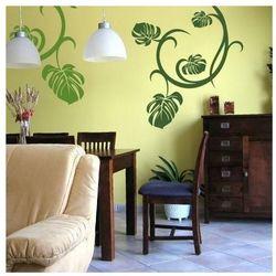Wally - piękno dekoracji Szablon malarski kwiaty 0983