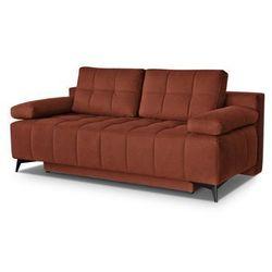 """Sofa """"ORLANDO"""" rozkładana - pomarańczowy"""