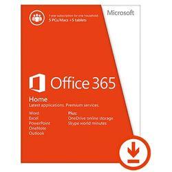 Microsoft Office 365 Home Premium, PL wersja 32 i 64 bit - produkt z kategorii- Programy biurowe i narzędziowe