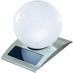 Esotec Lampa ogrodowa solarna , 102028, boule design, led wbudowany na stałe, 1x 3,6 v (1300 mah), 20 h, rgb,