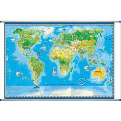 Świat mapa ścienna dla dzieci z kategorii mapy