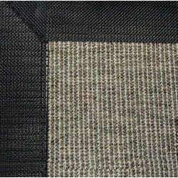 Dywan zewnętrzny z lamówką - Szary melanż - różne wymiary