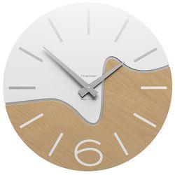 Zegar ścienny Oliver CalleaDesign biały, kolor biały