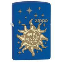 Zapalniczka Zippo Dzień/Noc, Royal Blue Matte