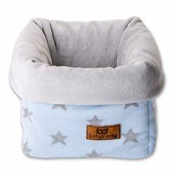 Baby's only , star koszyk na przybory 17x20x14 cm, błękitny/szary