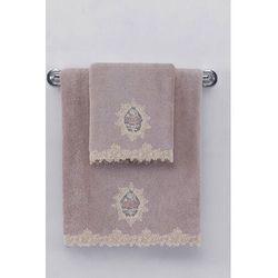 Soft cotton Mały ręcznik destan 32x50cm fioletowy / lila