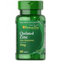 Tabletki Cynk chelatowany 25 mg / 100 tab Puritans prode